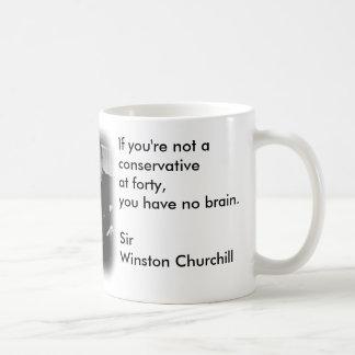 Liberal / Conservative Coffee Mug