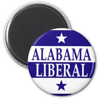 Liberal de Alabama Imán Redondo 5 Cm