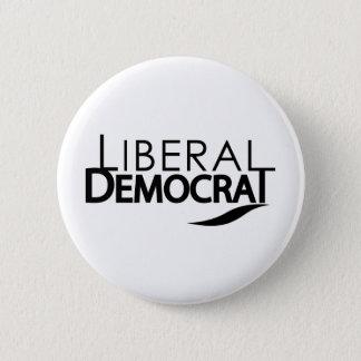 Liberal Democrat Button
