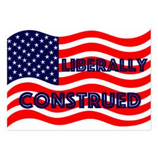 Liberal Democrat Democratic Politics Election 2016 Large Business Card