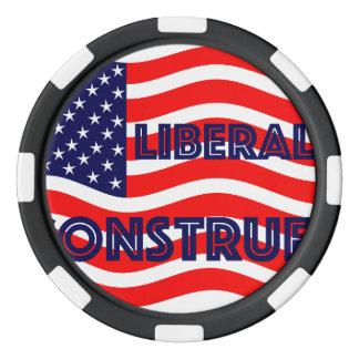 Liberal Democrat Democratic Politics Election 2016 Set Of Poker Chips