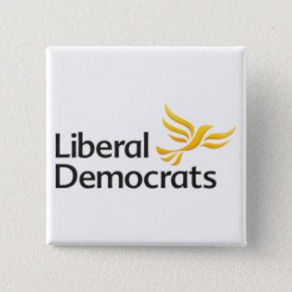 Liberal Democrats Button