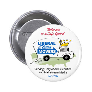Liberal Elite Movers Button