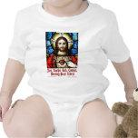 Liberal Jesús del corazón sangrante Trajes De Bebé