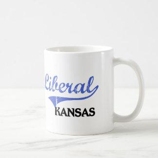 Liberal Kansas City Classic Classic White Coffee Mug