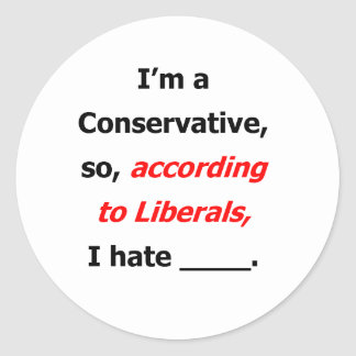 Liberal Lies Stickers