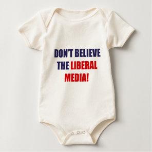 Liberal Media Baby Bodysuit