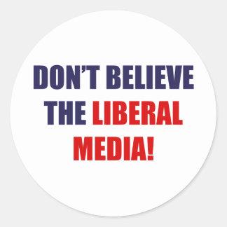 Liberal Media Stickers