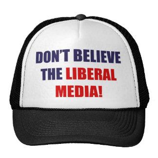 Liberal Media Trucker Hat