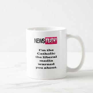 Liberal media warning mug