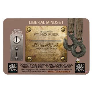 LIBERAL MINDSET MAGNET