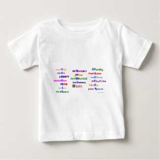 Liberal Moral Values Baby T-Shirt