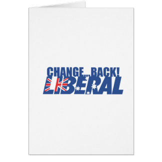 Liberal Party of Australia Card