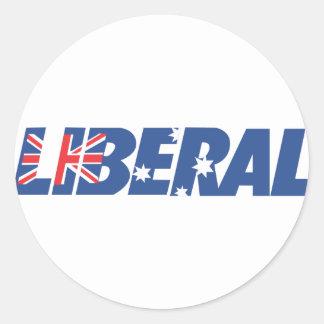 Liberal Party of Australia Classic Round Sticker