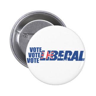 Liberal Party of Australia Pinback Button
