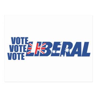 Liberal Party of Australia Postcard