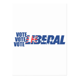 Liberal Party of Australia Postcard