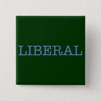 Liberal Pinback Button