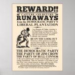 Liberal Plantation Runaway Poster