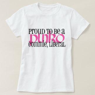 Liberal rojillo orgulloso del Commie Poleras