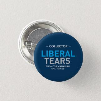 Liberal Tears Canada Editable Text Collector Pinback Button