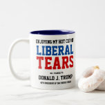 """Liberal Tears Mug<br><div class=""""desc"""">This mug has been a popular meme among Trump supporters,  often used to taunt the left-leaning.</div>"""