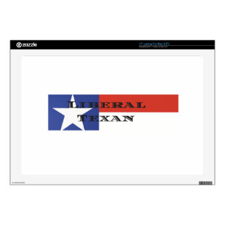 """Liberal Texan Gear Decal For 17"""" Laptop"""