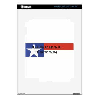 Liberal Texan Gear iPad 3 Decal