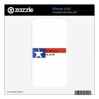 Liberal Texan Gear iPhone 4S Skin
