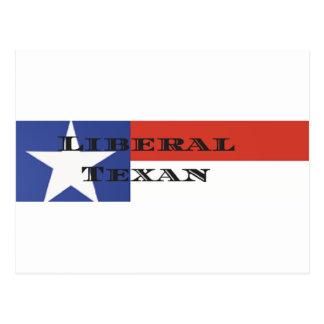Liberal Texan Gear Postcard
