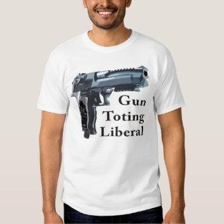 Liberal Toting del arma Playera