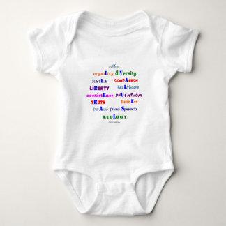 Liberal Values Baby Bodysuit