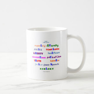 Liberal Values Coffee Mug