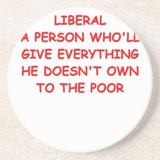 liberales posavasos personalizados