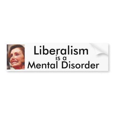 liberalism mental disorder