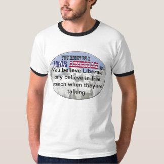 Liberals and Free Speech T-shirt