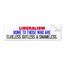 LBERALS  HAVE NO BRAINS