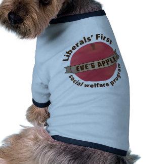 Liberals First Social Welfare Program Dog Tee Shirt