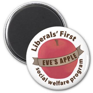 Liberals First Social Welfare Program Fridge Magnets