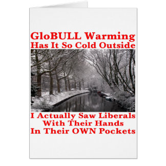 Liberals Hands In Their Own Pockets #2 Card