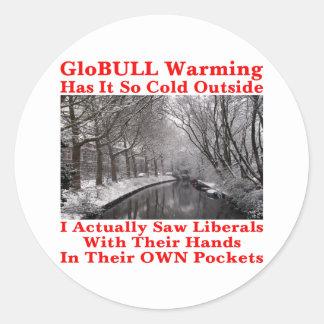 Liberals Hands In Their Own Pockets #2 Sticker