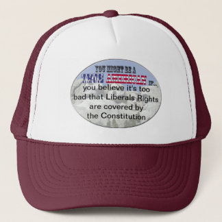 liberals rights constitution trucker hat