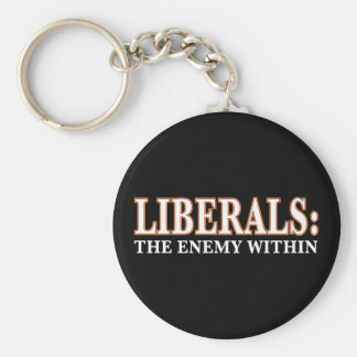 Liberals - The Enemy Within Keychain