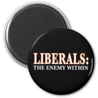 Liberals - The Enemy Within Fridge Magnet