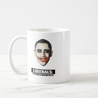 LIBERALS - THEY KNOW SO MUCH THAT ISNT SO CLASSIC WHITE COFFEE MUG