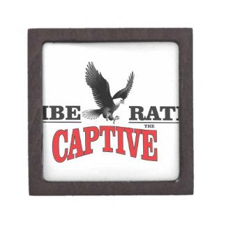 liberate the slaves bird gift box