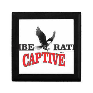 liberate the slaves bird jewelry box