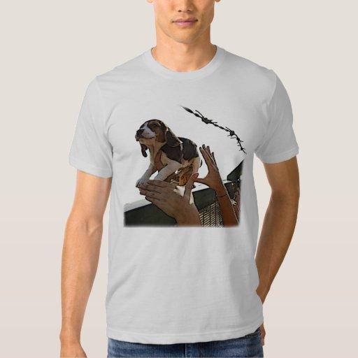 Liberated Beagle t-shirt