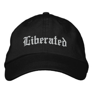 Liberated Embroidered Baseball Hat
