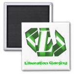 Liberation DeathAdder Green Refrigerator Magnet